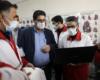 بازدید رئیس جمعیت هلال احمر از مرکز ستادی و مناطق هلال احمر شهرستان تهران