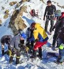عملیات جست و جو و انتقال قربانیان بهمن در ارتفاعات تهران