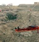 تمرین نجات در کوهستان و کار در ارتفاع تیم واکنش سریع استان تهران