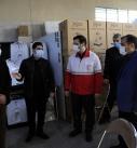 اهدای 400 دستگاه اکسیژن ساز خانگی از سوی هلالاحمر با کمک دفتر کمیته بینالمللی صلیب سرخ