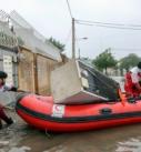 امدادرسانی به مردم آسیبدیده از باران در اهواز