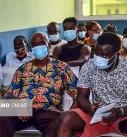 سفر رئیس جمعیت هلال احمر به غنا