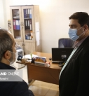 بازدید دکتر همتی از روزنامه شهروند