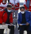 توزیع 4420 بسته کمک معیشتی جمعیت هلال احمر