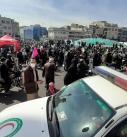 پوشش امدادی مراسم گرامیداشت یوم الله ۲۲ بهمن در تهران توسط هلال احمر