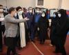 بازدید سرزده رییس جمهور از بخش کرونای بیمارستان امام خمینی و یکی از مراکز تزریق واکسن کرونا